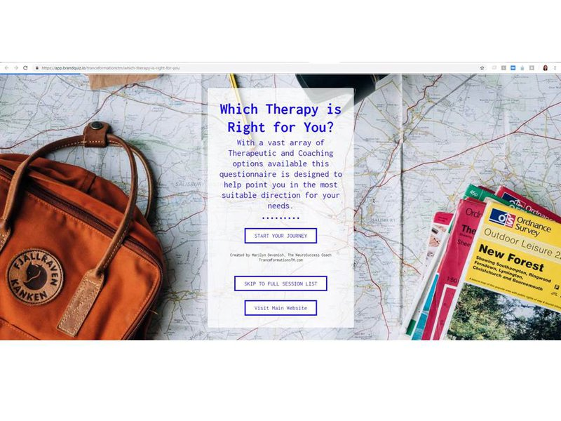 Online Quiz Which Therapy is Right for You?