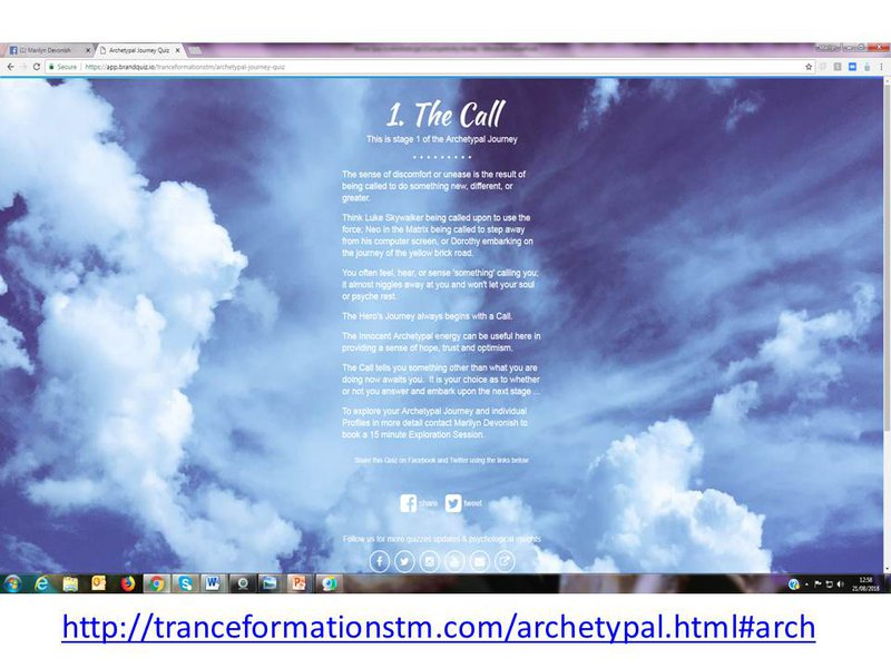 Where are you on your journey of transformation