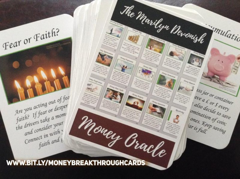 The Marilyn Devonish Money Oracle Cards