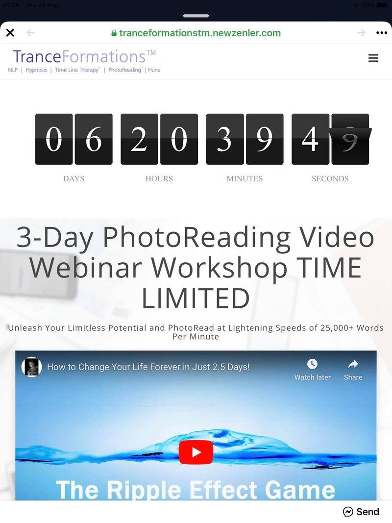 PhotoReading Online Video Webinar Workshop