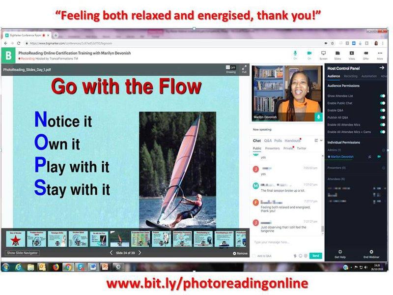 PhotoReading Online Certification Workshop