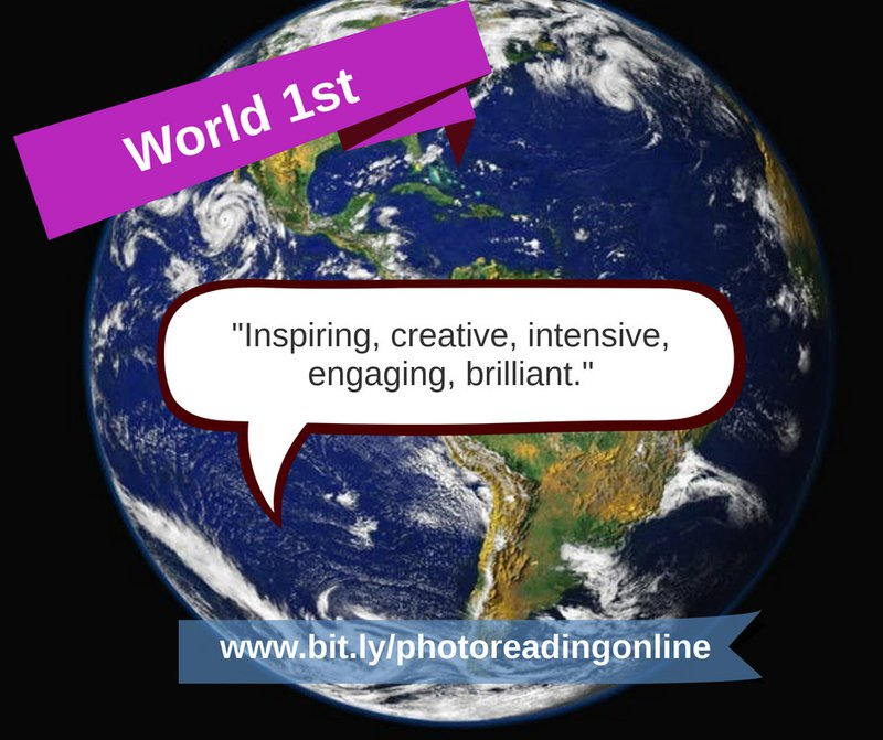 Online Courses Online Workshops eLearning PhotoReading