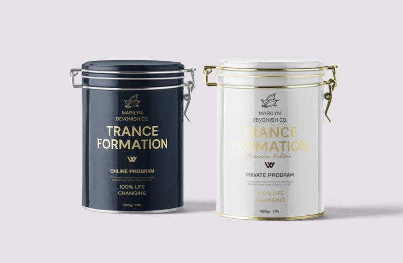 TranceFormation Program Tins