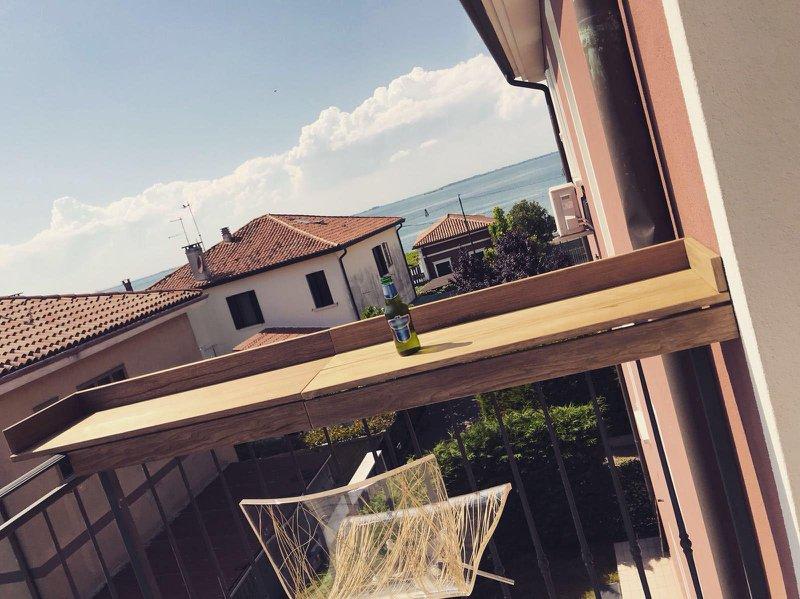 Balkon verschönern mit einer Bar