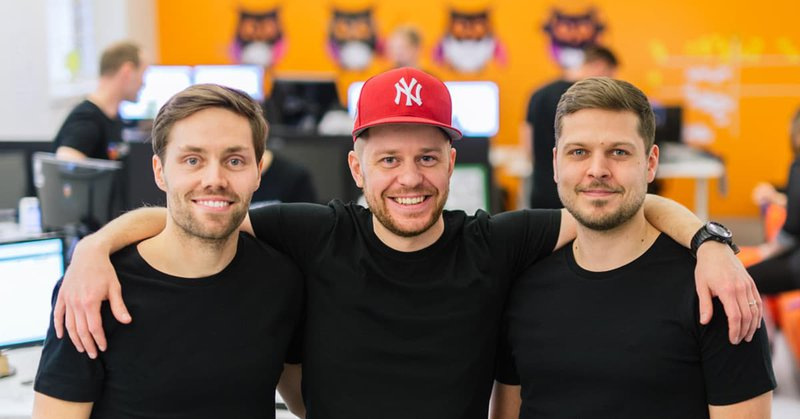 Perttu Ojansuu and his co-founders