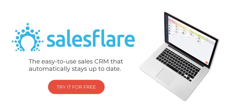 get Salesflare CRM with built-in sales dashboards