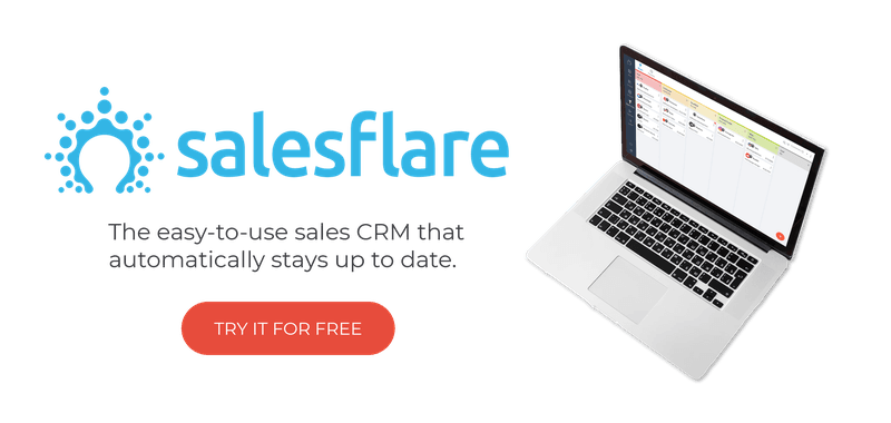 the easy to use sales crm that automatically stays up to date