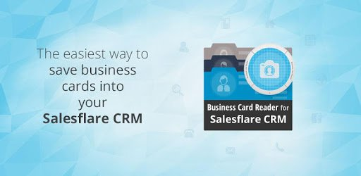 the easiest way to save business cards into your salesflare crm