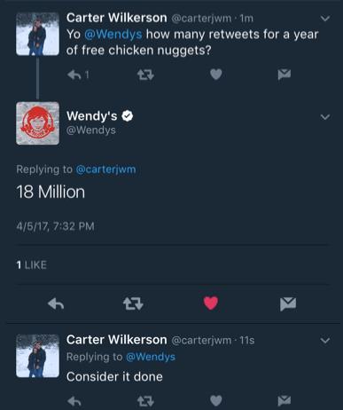 Wendy's Twitter