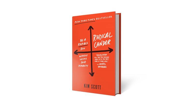 Radical Candor book cover by Kim Scott