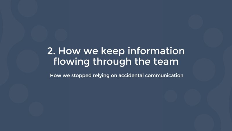 how salesflare keeps information flowing through the team