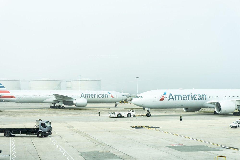 Airport runway American