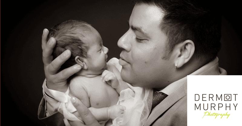 Newborn Photography - Daddies girl