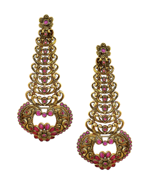 Ethnic Earrings by Beautiart