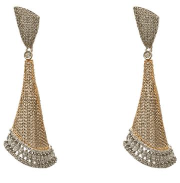 Long Earrings by Beautiart Fashion Jewellery