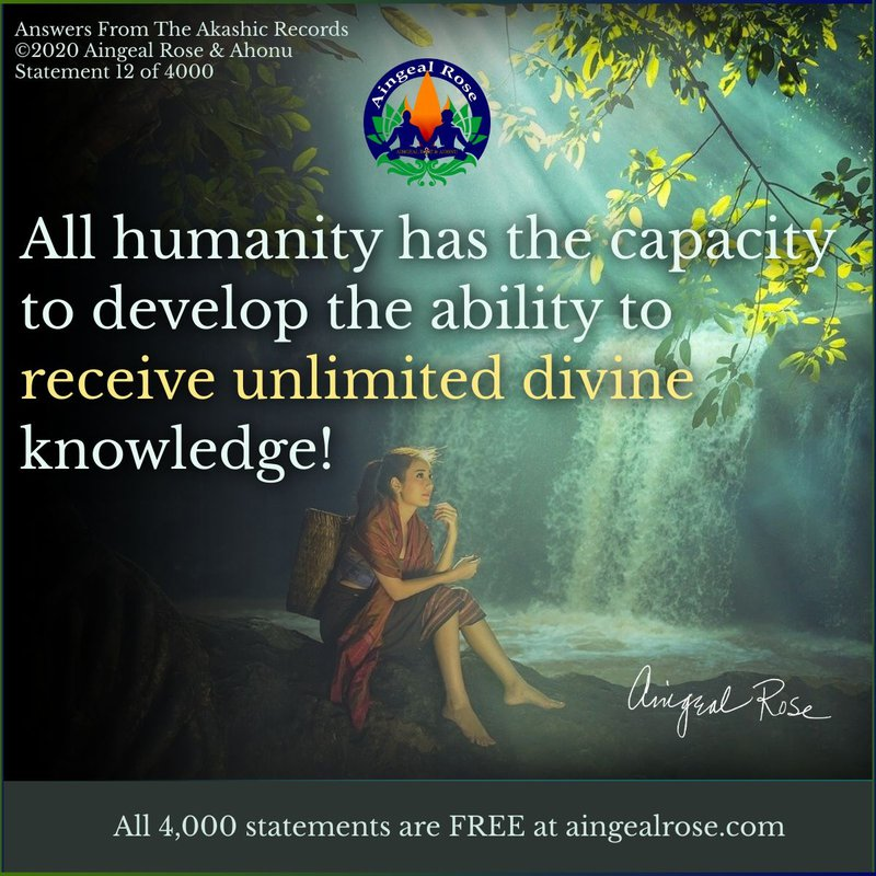 All humanity... Answers From The Akashic Records with Aingeal Rose & Ahonu