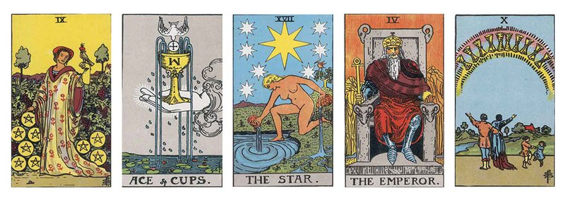 Physical Health Spread from Advanced Tarot Spreads: 22 Deep Card Layouts for Experienced Readers