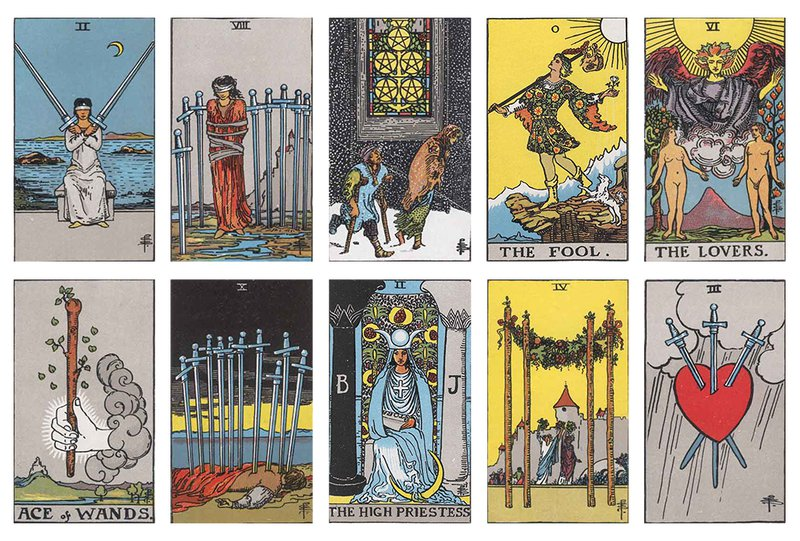 Thought, Emotion & Feeling Spread from Advanced Tarot Spreads: 22 Deep Card Layouts for Experienced Readers