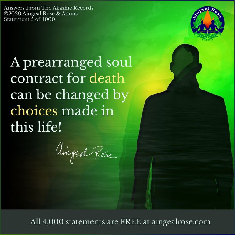 A prearranged soul contract...Answers From The Akashic Records with Aingeal Rose & Ahonu