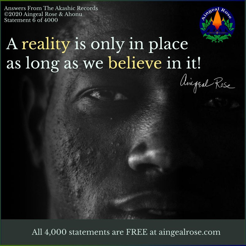 A reality is only... Answers From The Akashic Records with Aingeal Rose & Ahonu