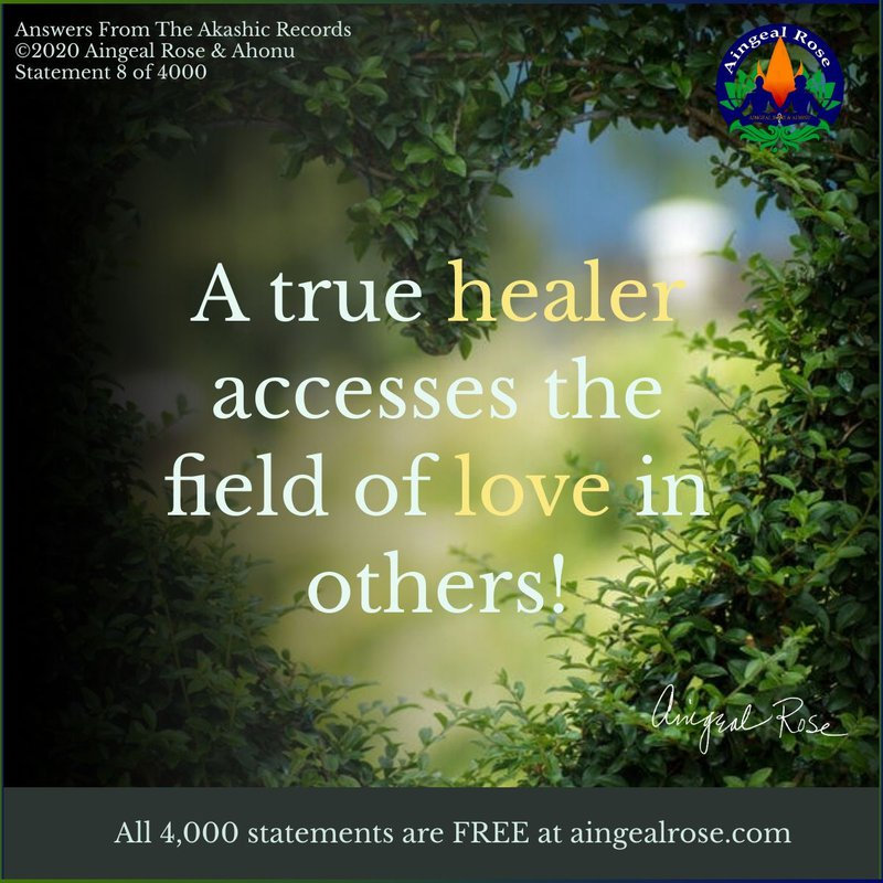 A true healer... Answers From The Akashic Records with Aingeal Rose & Ahonu
