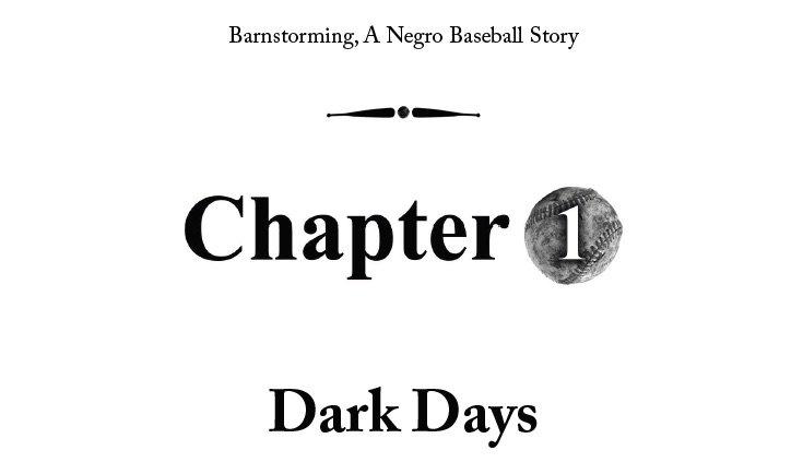 Barnstorming, A Negro Baseball Story by Jonathan Carroll