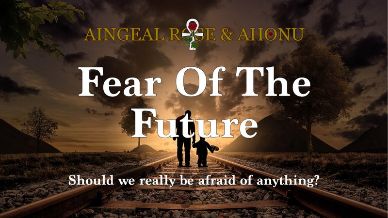 Fear Of The Future is a short extract from a discussion between Aingeal Rose & Ahonu while on a road trip.