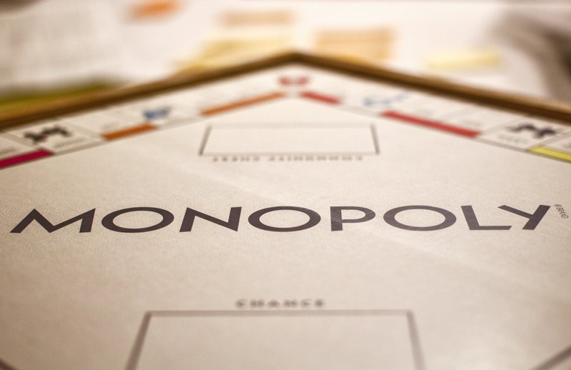 Fear of the future is like playing Monopoly.