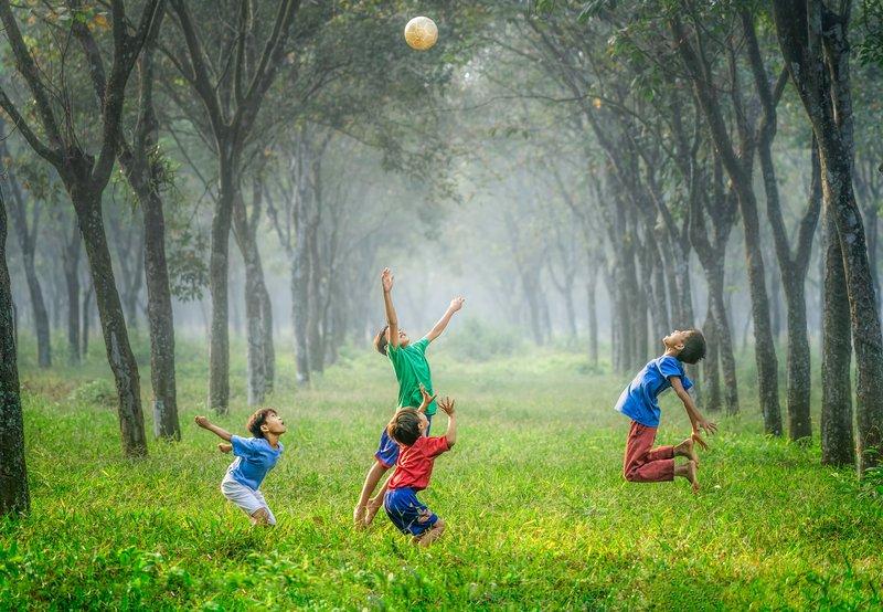 Football outside Jakarta