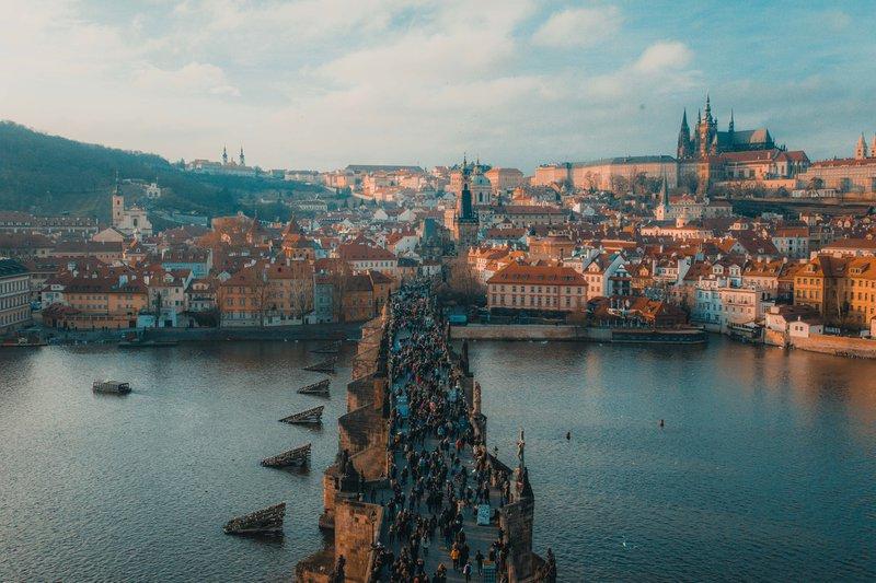 Prague, the charles bridge