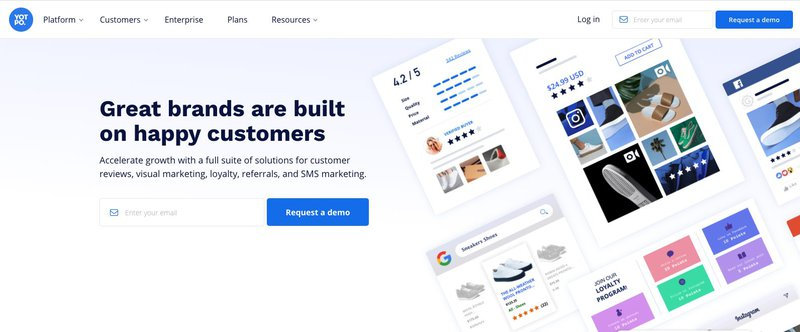 Yotpo is a referral program software