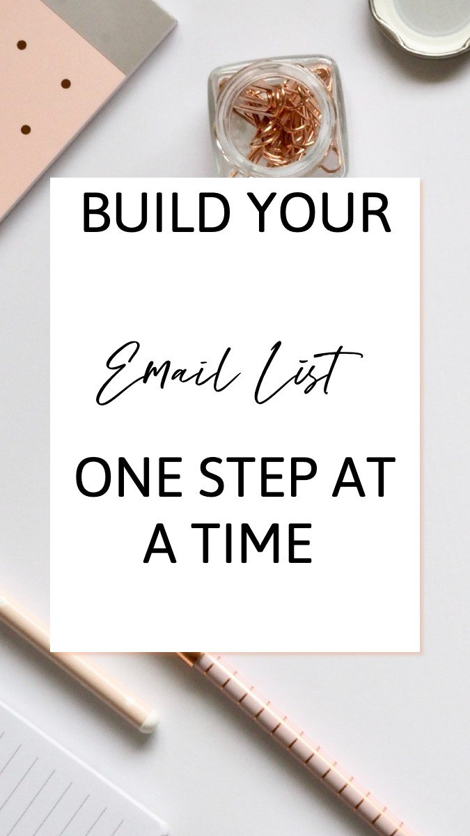 How to Build your email list with focus