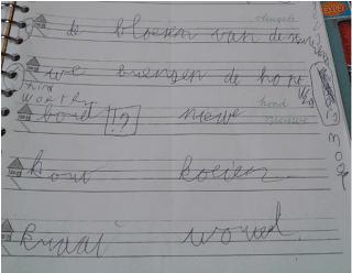 dcd handschrift