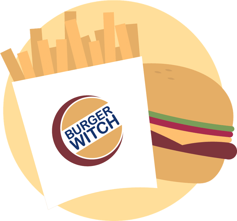 burger witch harry potter