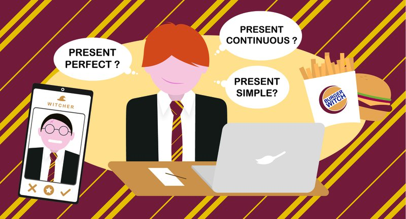 Engels tijden vervoegen, english tenses, present simple, present perfect, present continuous