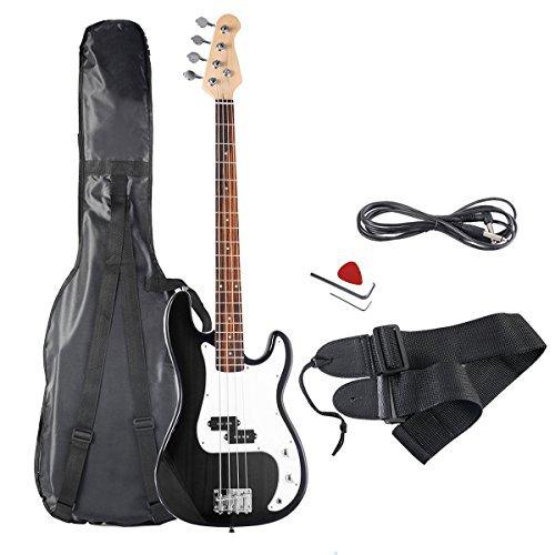 GoPlus Electric P Bass in Black