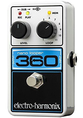 Electro-Harmonix 360 Nano Looper Guitar Looper Effects Pedal Loop