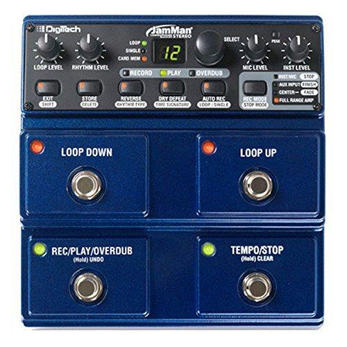 Digitech JamMan Stereo Looper Delay Pedal Looper