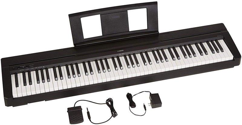 Yamaha P71 88-Key Weighted Action Digital Piano