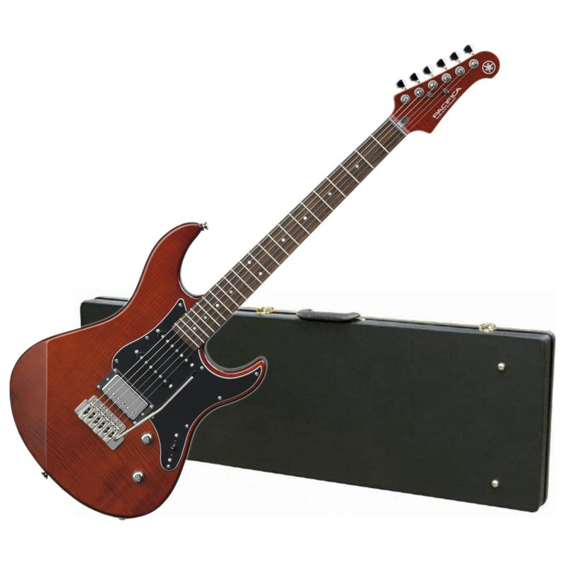 Yamaha PAC612VIIFM RB Limited Edition Flame Maple Top Electric Guitar