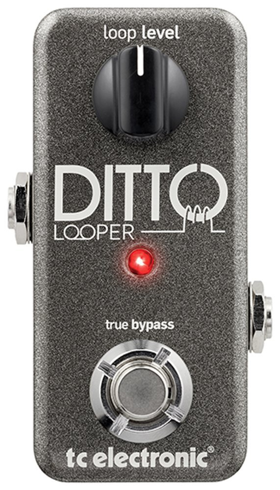 TC Electronic Guitar Ditto Looper Effects Pedal Loop