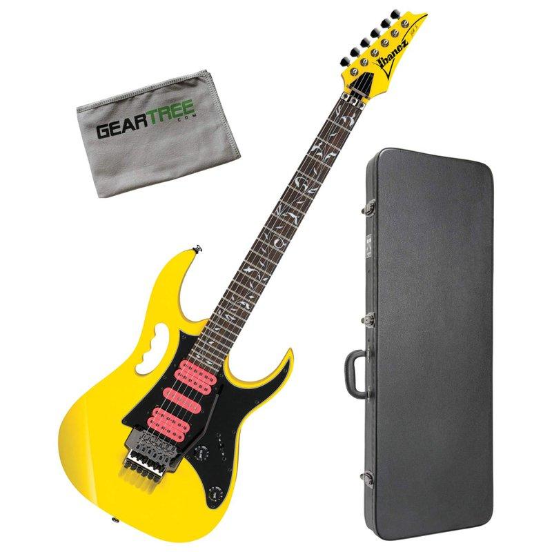 Ibanez JEMJRSPYE Steve Vai Signature Yellow Electric Guitar