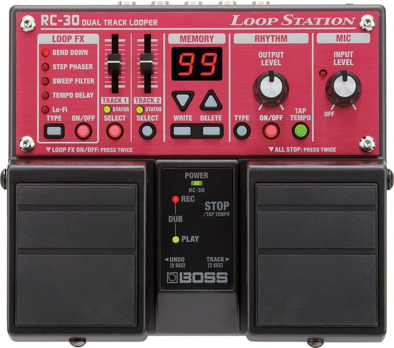 BOSS RC-30 Phrase Pedal Looper