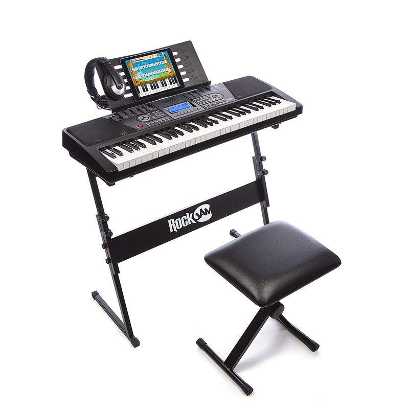 RockJam 61-Key Electronic Keyboard Piano