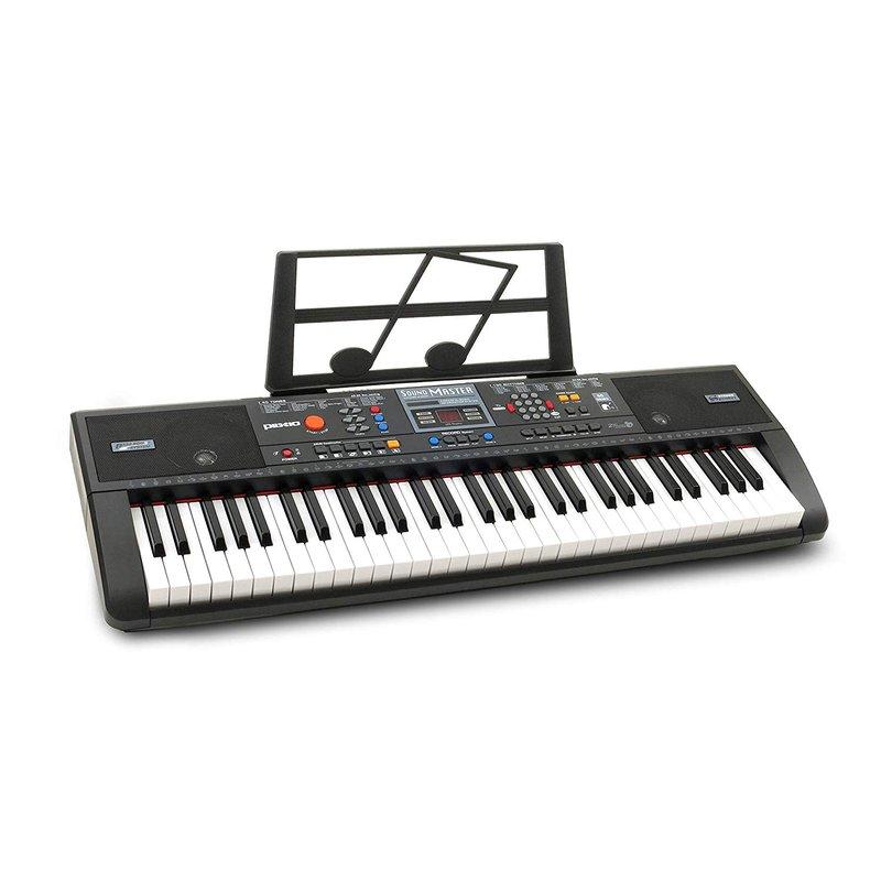 Plixio 61-Key Digital Electric Piano Keyboard