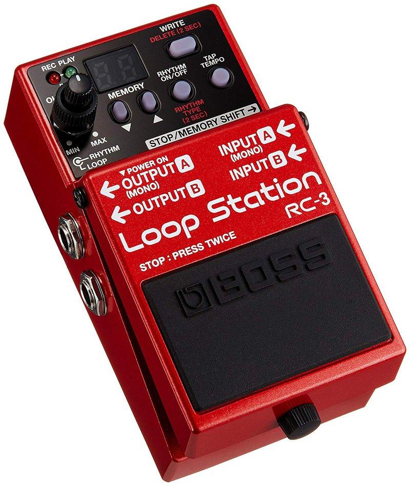 Boss Audio RC-3 Loop Station Pedal Looper