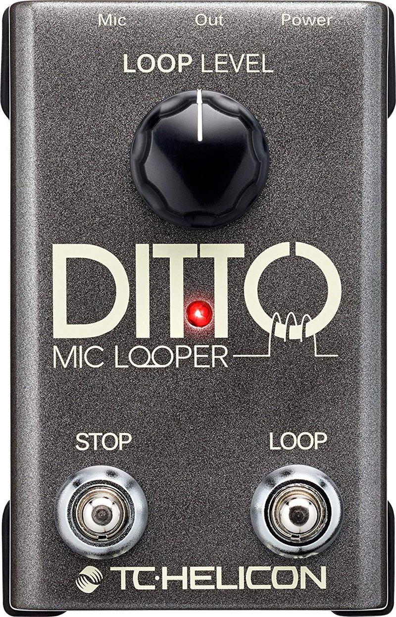 TC Helicon Ditto Mic Pedal Looper