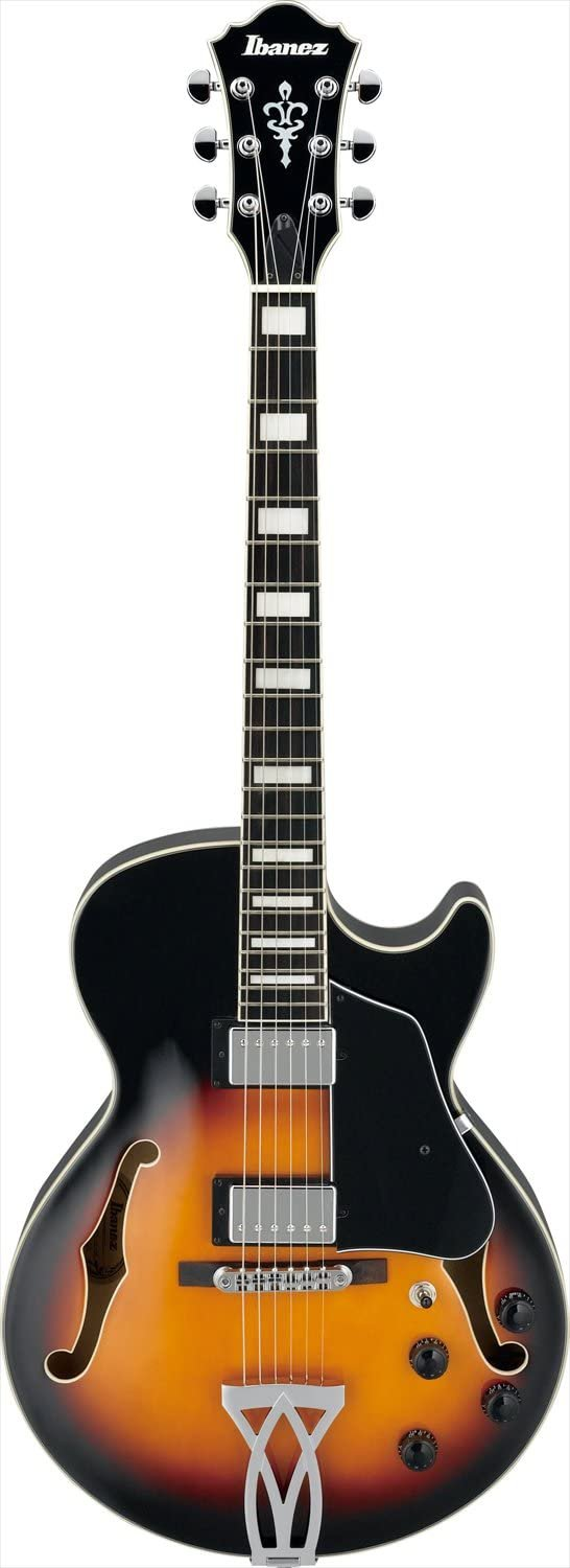 Ibanez AG75BS 3 Best Hollow-Body Guitars Under 0