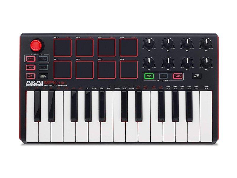 AKAI MPK Mini MIDI keyboard with pads