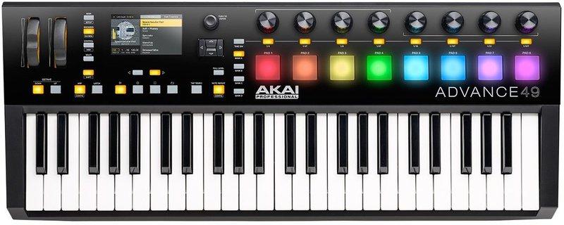 Akai Advance 49 key usb keyboard